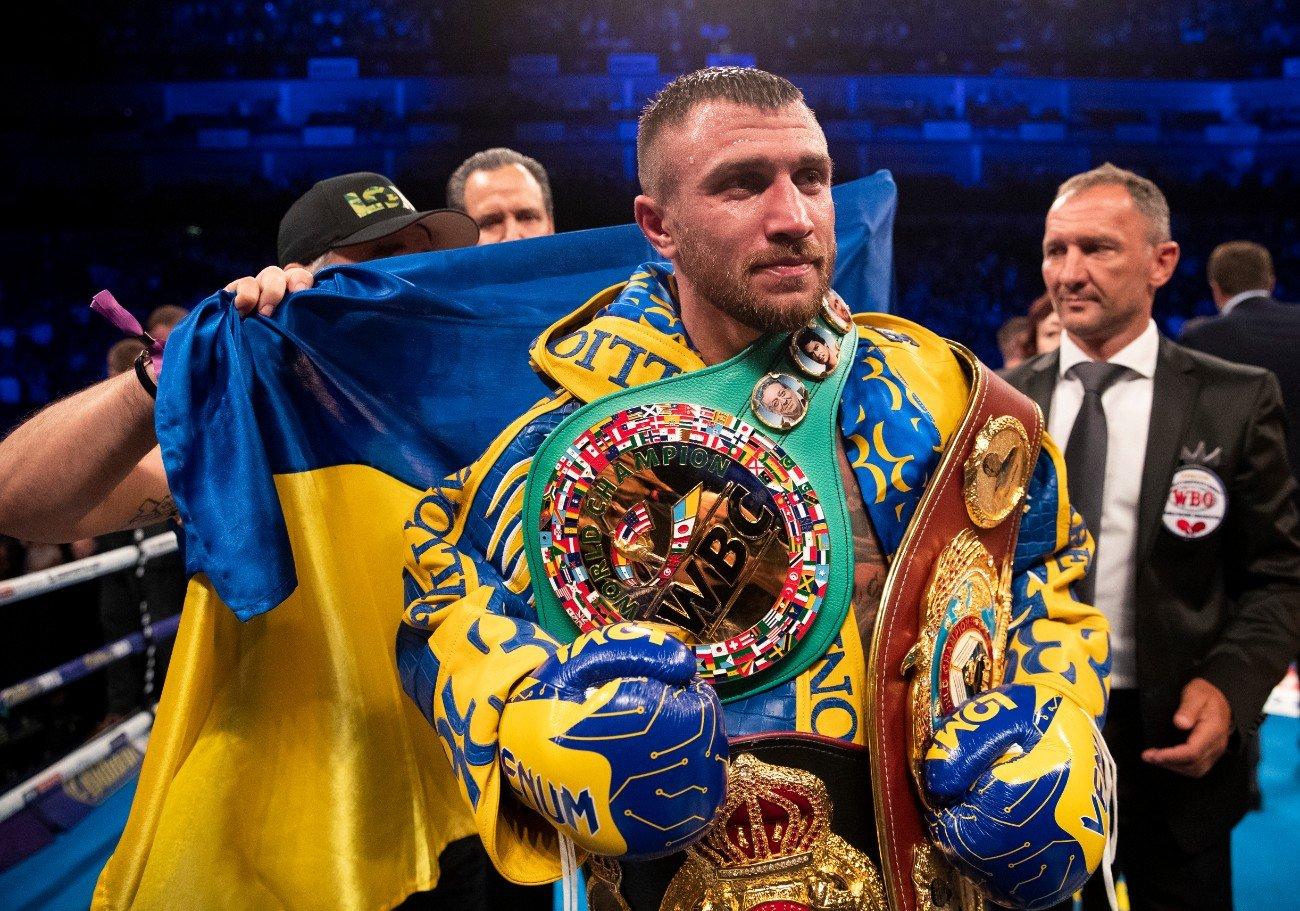 Dernier Teofimo Lopez Vasyl Lomachenko