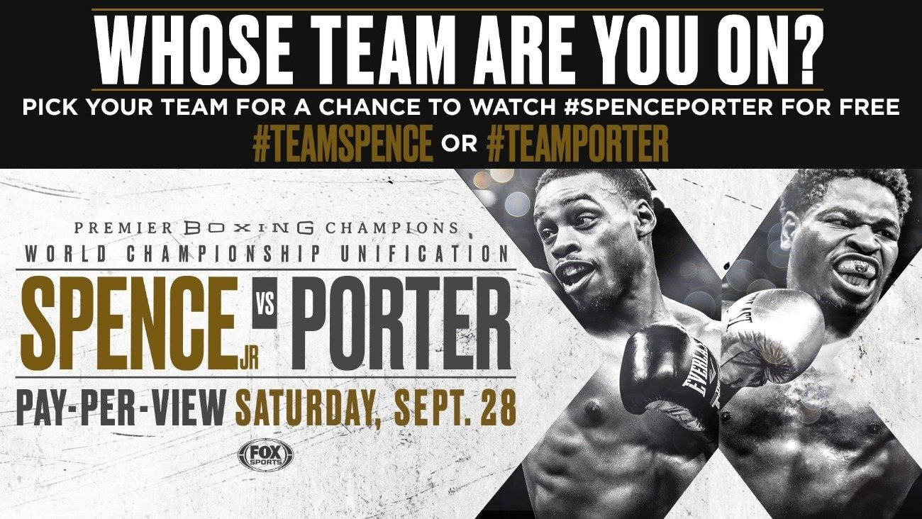 - Latest Errol Spence Jr Shawn Porter