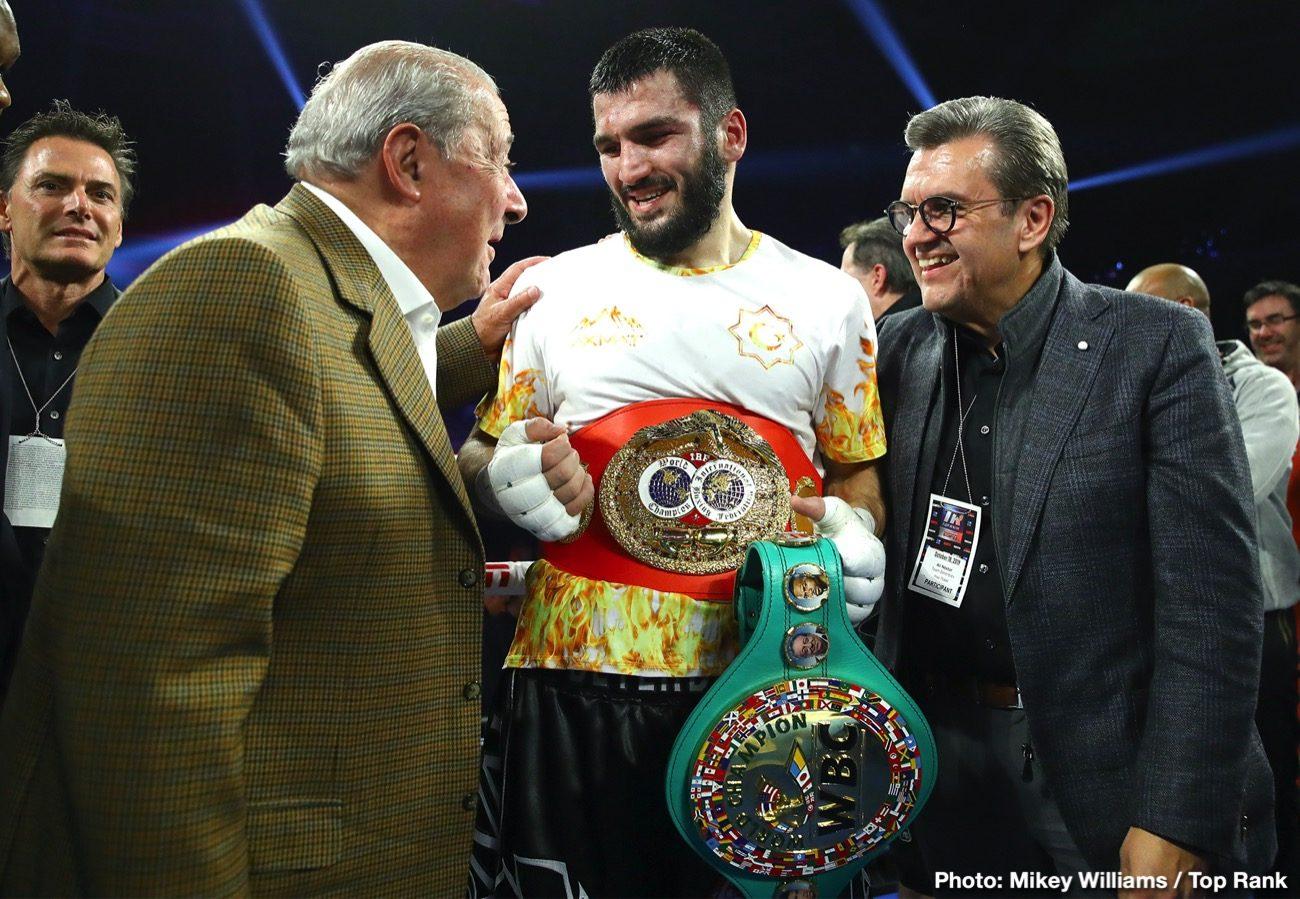 Artur Beterbiev Canelo Alvarez Sergey Kovalev Beterbiev vs. Gvozdyk DAZN ESPN Oleksandr Gvozdyk Top Rank Boxing
