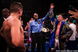 Gennadiy Golovkin vs. Kamil Szeremeta now taking place in May