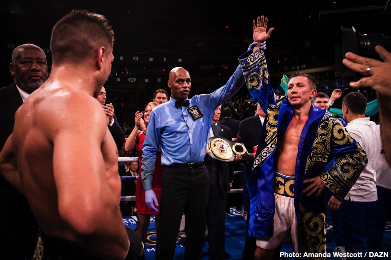 Gennady Golovkin Manny Pacquiao Terence Crawford