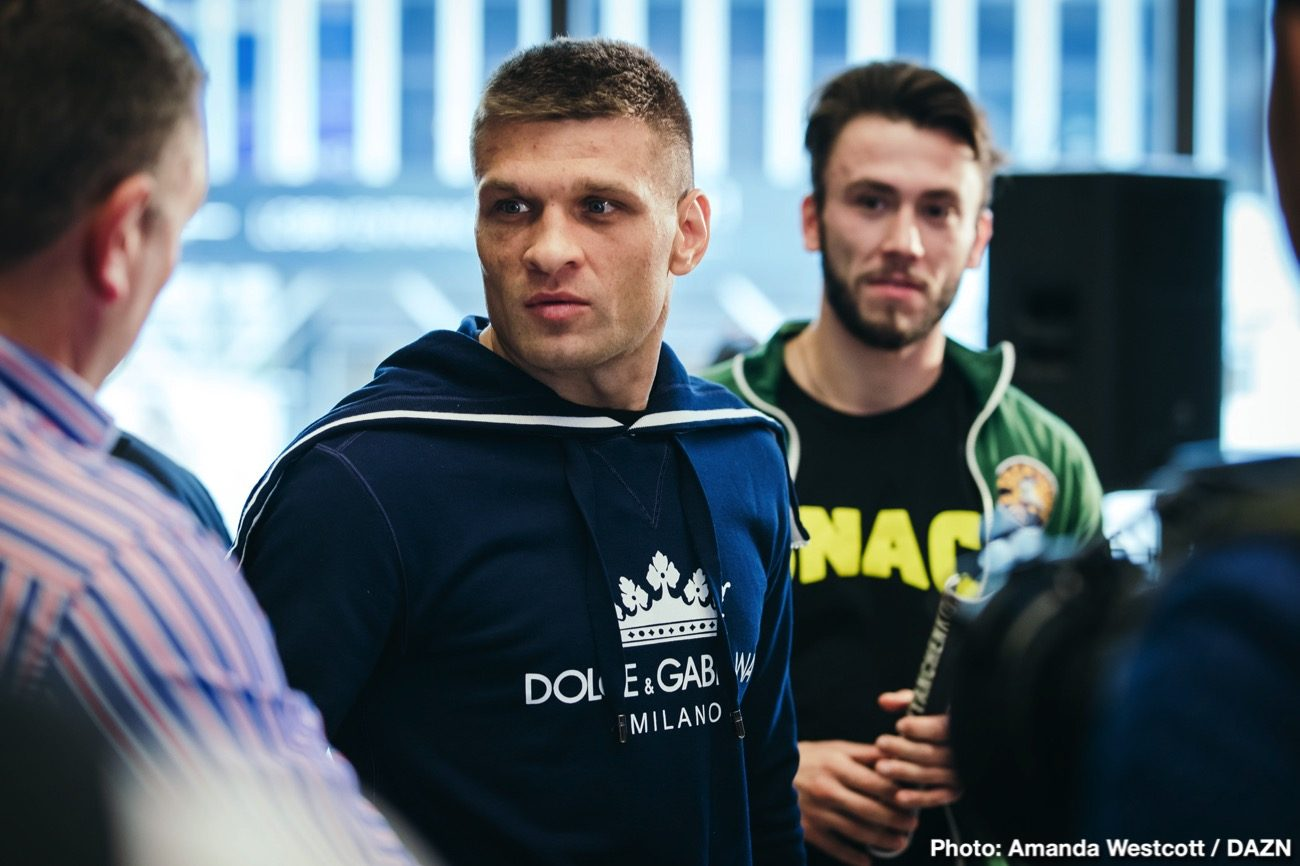 Billy Joe Saunders Gennady Golovkin DAZN Golovkin vs. Derevyanchenko Sergiy Derevyanchenko