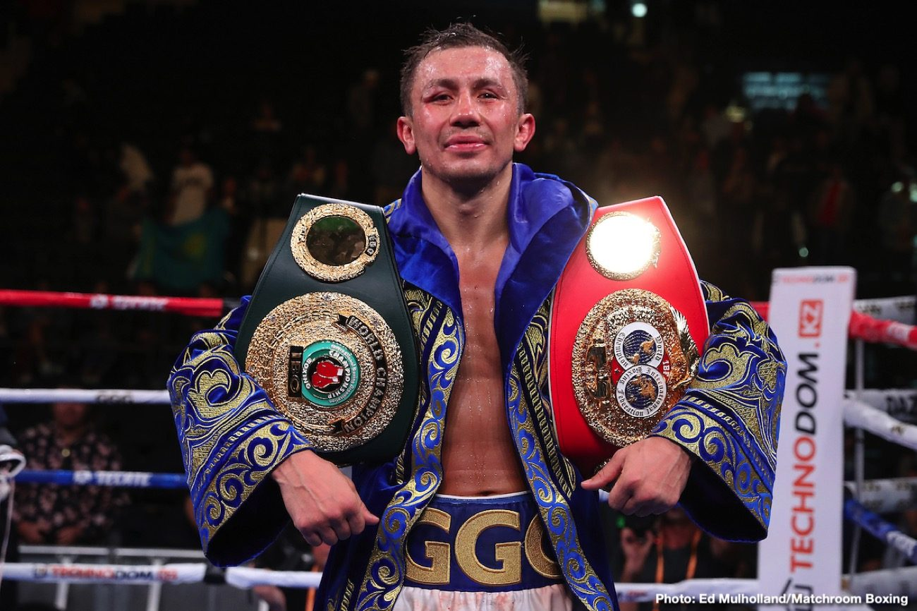 Ggg Looking To Make History On Dec.18Th With Record-Breaking Defense ⋆ Boxing News 24