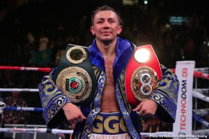 GGG looking to make history on Dec.18th with record-breaking defense