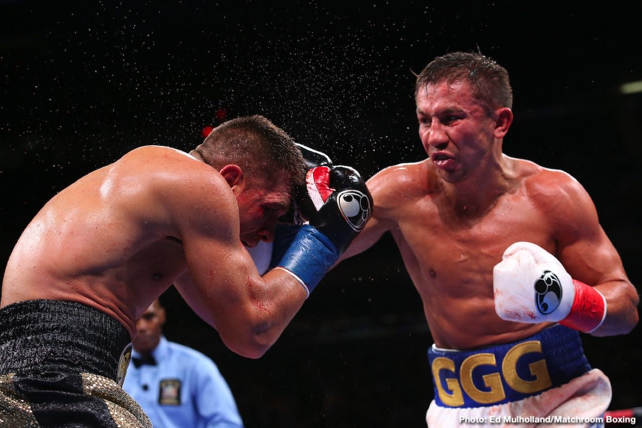 Golovkin Next Fight