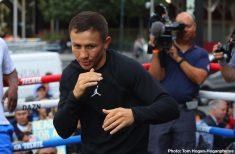 Gennady Golovkin DAZN Eddie Hearn Golovkin vs. Derevyanchenko Sergiy Derevyanchenko