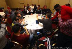 - Latest Artur Beterbiev Luis Collazo Beterbiev vs. Gvozdyk Collazo vs. Abdukakhorov ESPN Kudratillo Abdukakhorov Oleksandr Gvozdyk Top Rank Boxing