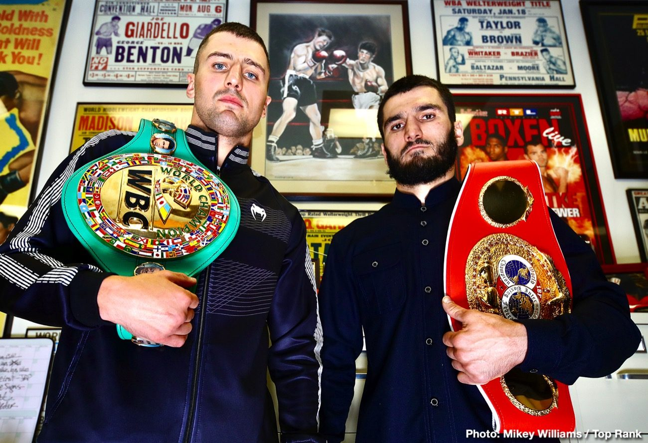 Artur Beterbiev Beterbiev vs. Gvozdyk ESPN Oleksandr Gvozdyk Top Rank Boxing