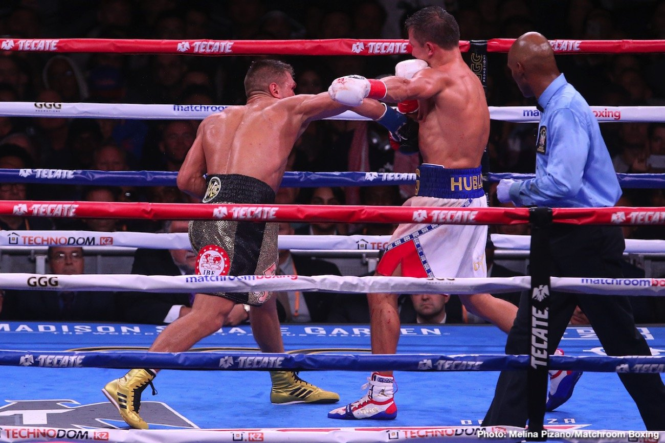 Gennady Golovkin DAZN Eddie Hearn Golovkin vs. Szeremeta Kamil Szeremeta Matchroom Boxing USA