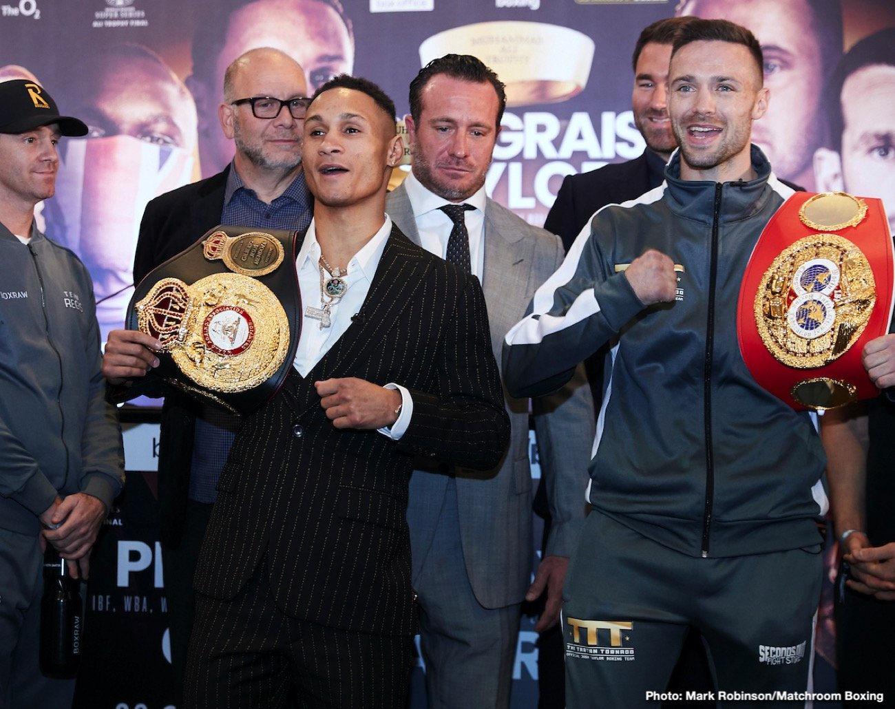 Prograis and Taylor face-to-face at fiery final press conference