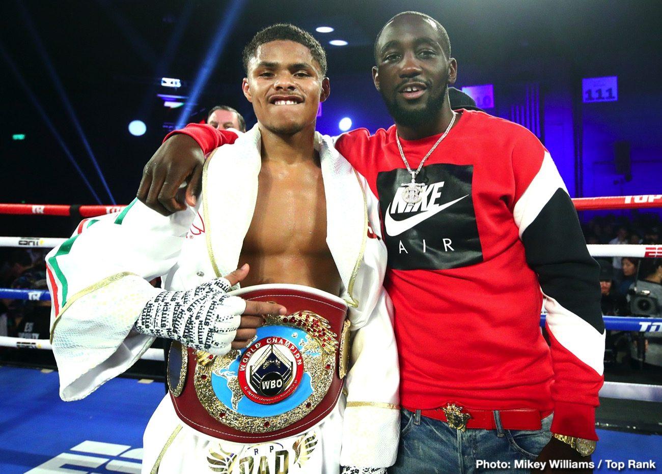 Terence Crawford Vasyl Lomachenko Crawford vs. Kavaliauskas Egidijus Kavaliauskas Top Rank Boxing