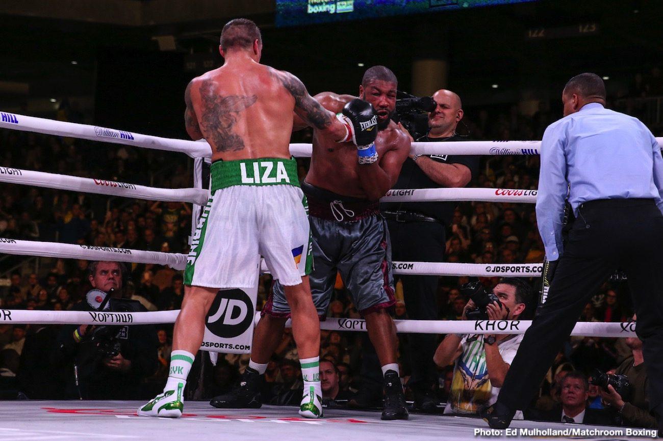 Aleksandr Usyk Anthony Joshua Chazz Witherspoon Deontay Wilder DAZN Joshua vs Ruiz