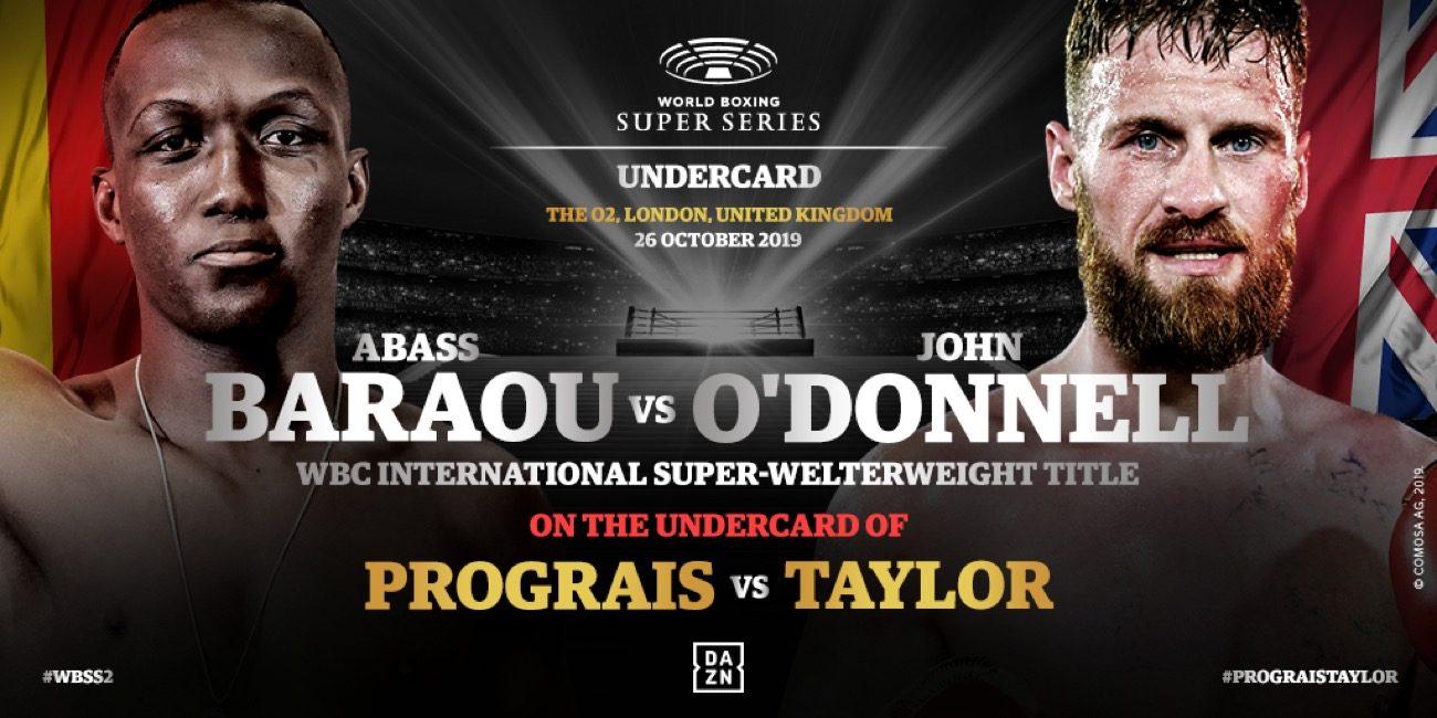 - Latest Abass Baraou Prograis vs. Taylor