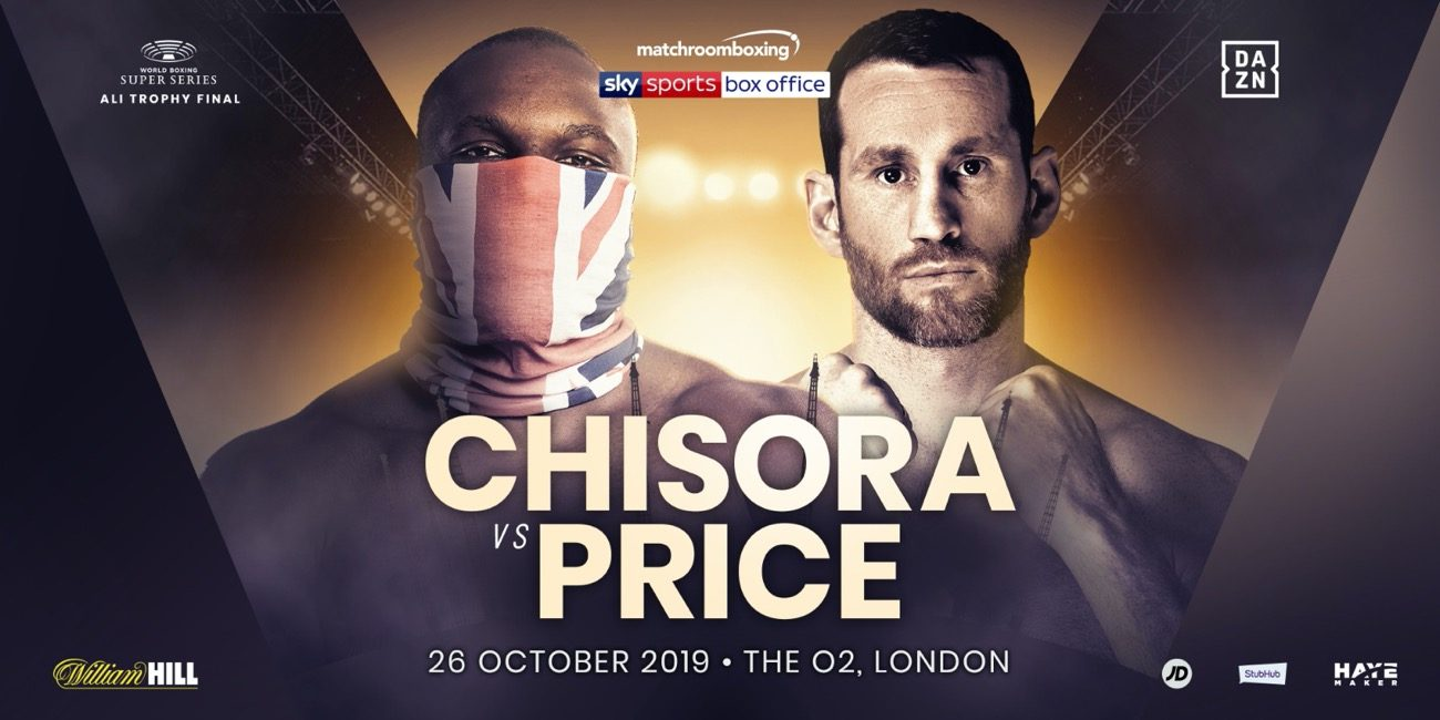 David Price Derek Chisora Chisora vs. Price DAZN Josh Taylor Prograis vs. Taylor Regis Prograis Sky Box Office