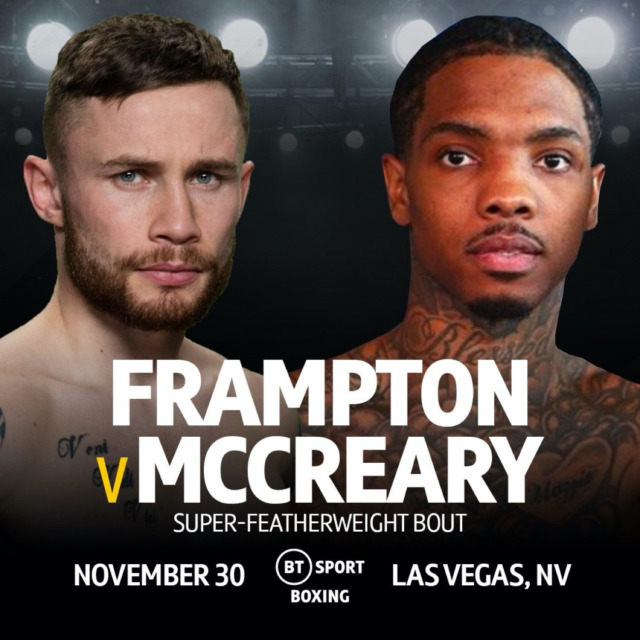 Carl Frampton Frampton vs. McCreary Tyler McCreary