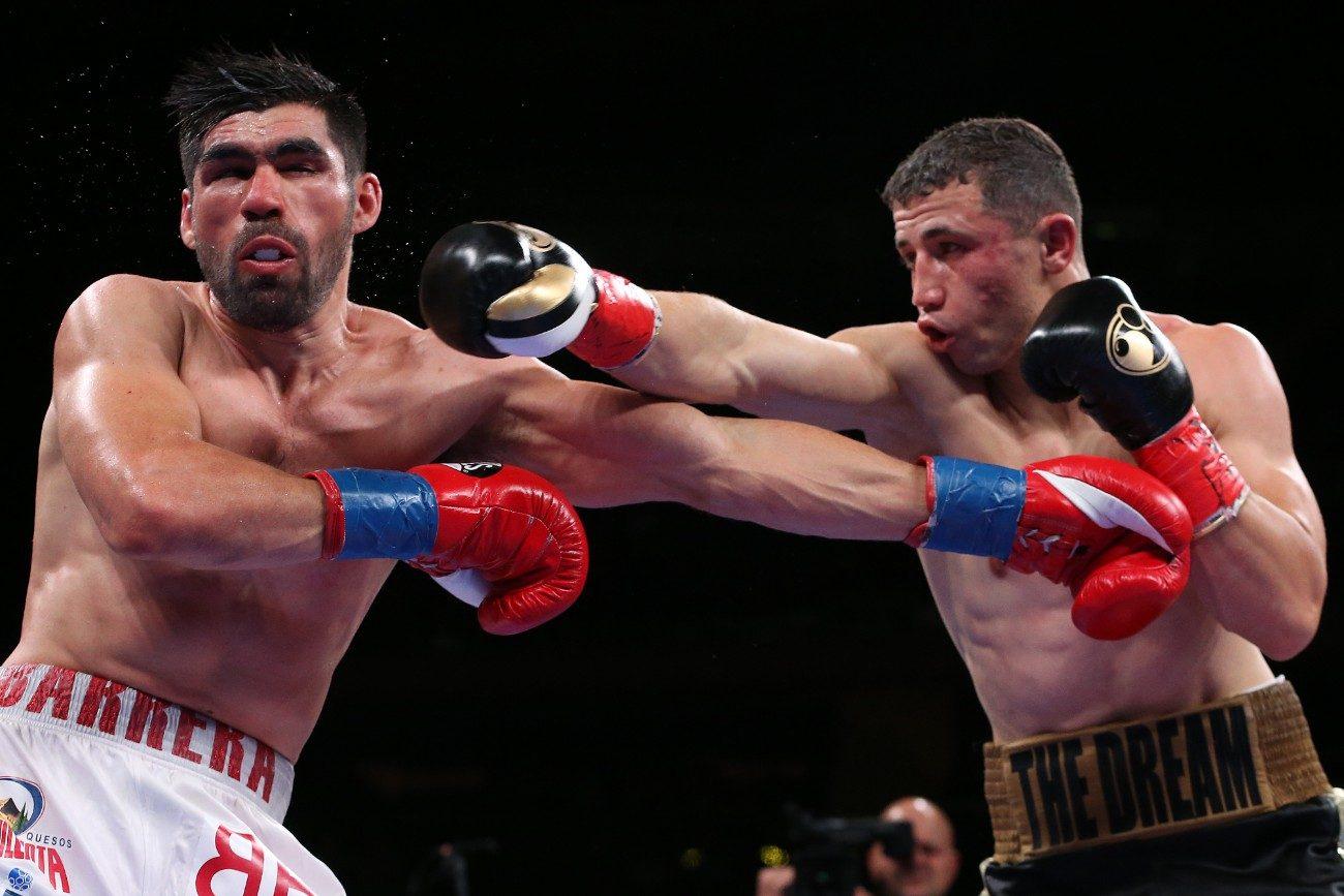 - Latest Alejandro Barrera DAZN Golovkin vs. Derevyanchenko Israil Madrimov Madrimov vs. Barrera