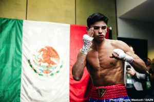 Ryan Garcia: 'Poor Mayweather, you're NOT going to hold me back'