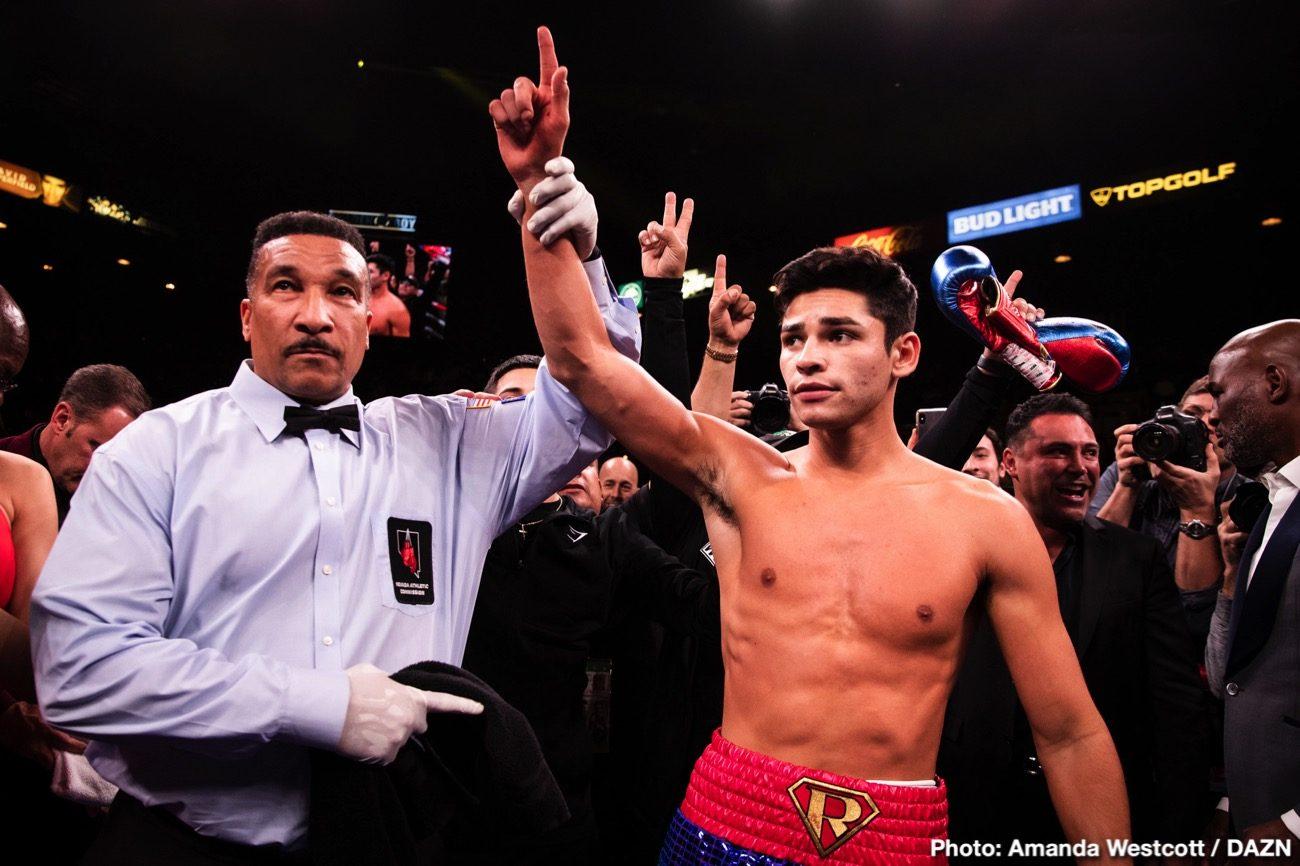 Jorge Linares Golden Boy Promotions Ryan Garcia