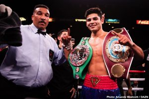 Top Rank wants Ryan Garcia for Teofimo Lopez's next fight
