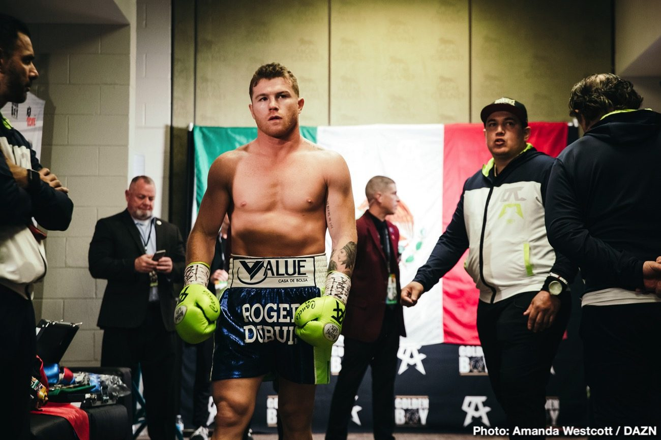 Billy Joe Saunders Canelo Alvarez DAZN