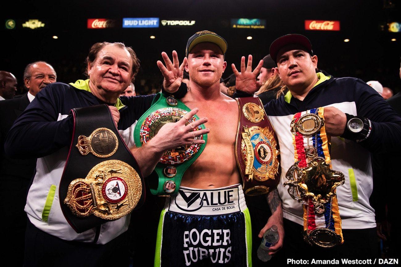 Anthony Joshua Canelo Alvarez Gennady Golovkin Tyson Fury