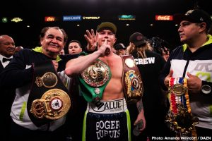 Canelo Alvarez vs. Billy Joe Saunders close to being done for May 2