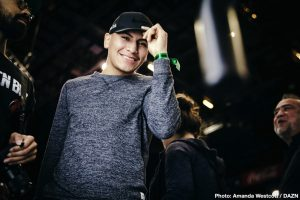 Vergil Ortiz Jr wants Terence Crawford clash