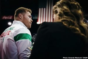 Canelo Alvarez says his A-side status 'Has to be RESPECTED'