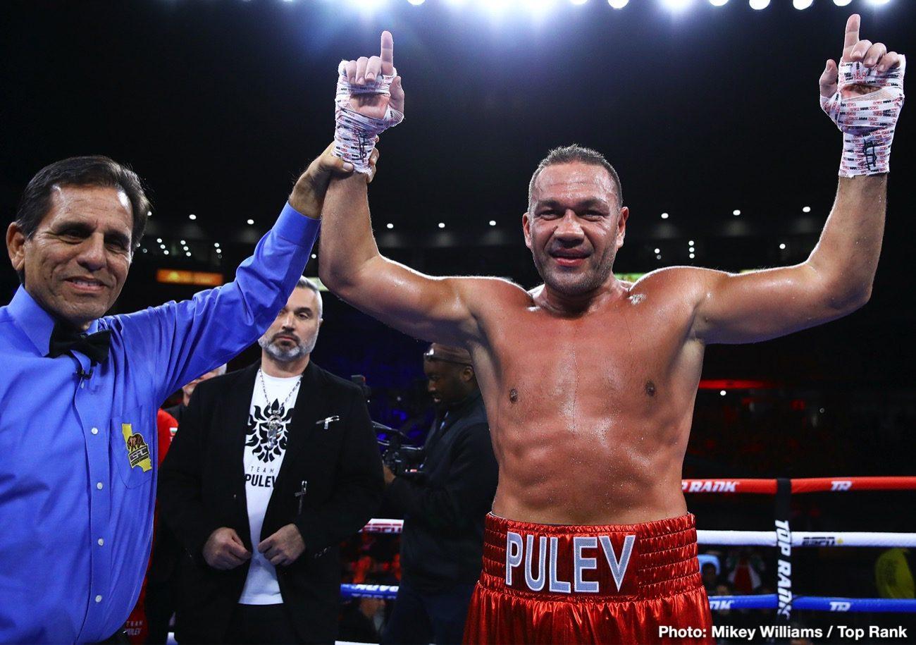 Anthony Joshua Kubrat Pulev