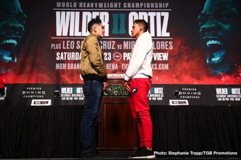 - Latest Deontay Wilder Leo Santa Cruz FOX Sports PPV Luis Ortiz Miguel Flores Santa Cruz vs. Flores Wilder vs. Ortiz