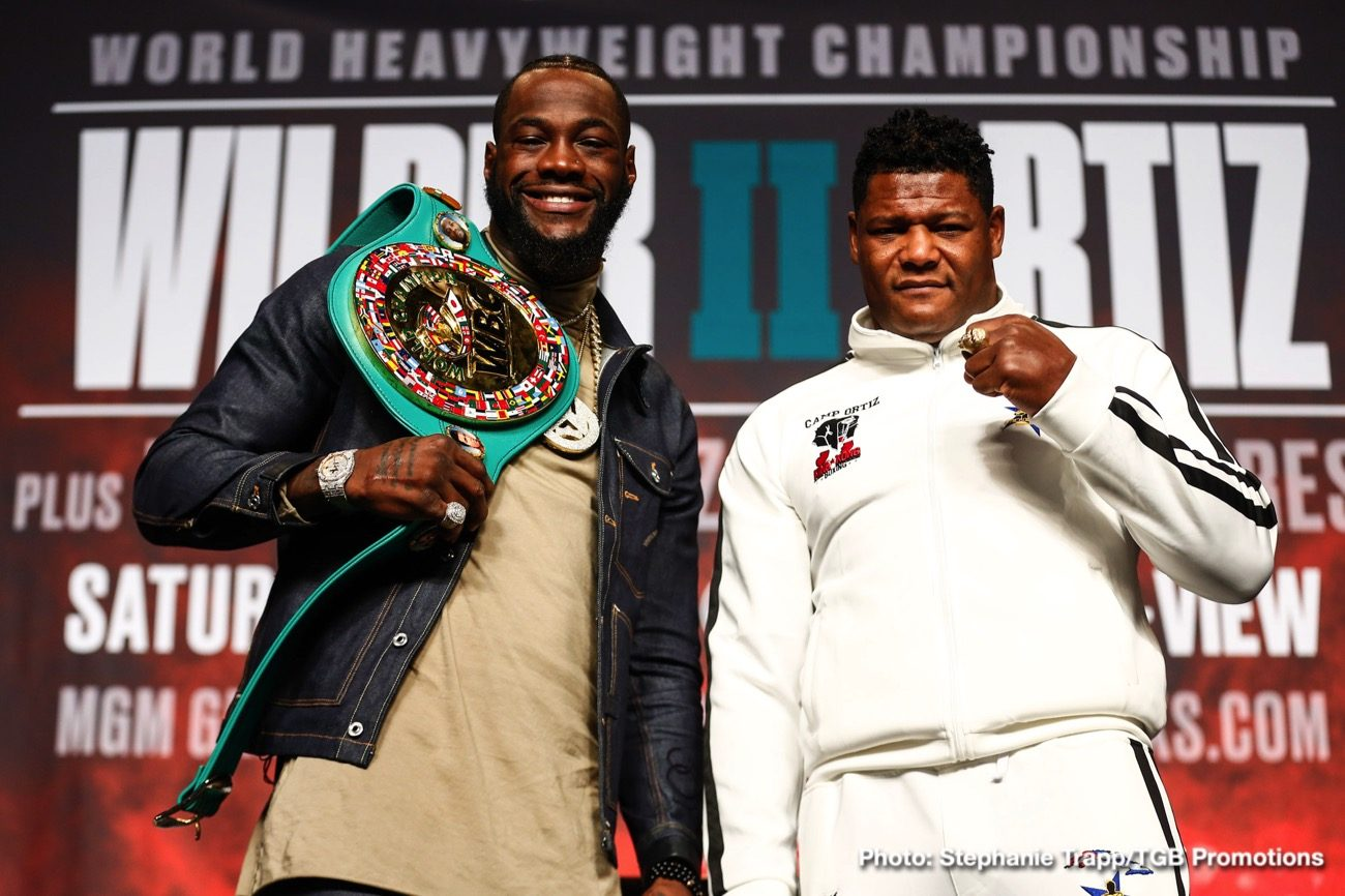 Deontay Wilder DAZN Fox Sports pay-per-view John Skipper Luis Ortiz Wilder vs. Ortiz