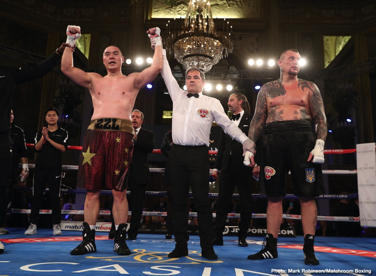 Latest Andriy Rudenko Zhang vs. Rudenko Zhilei Zhang
