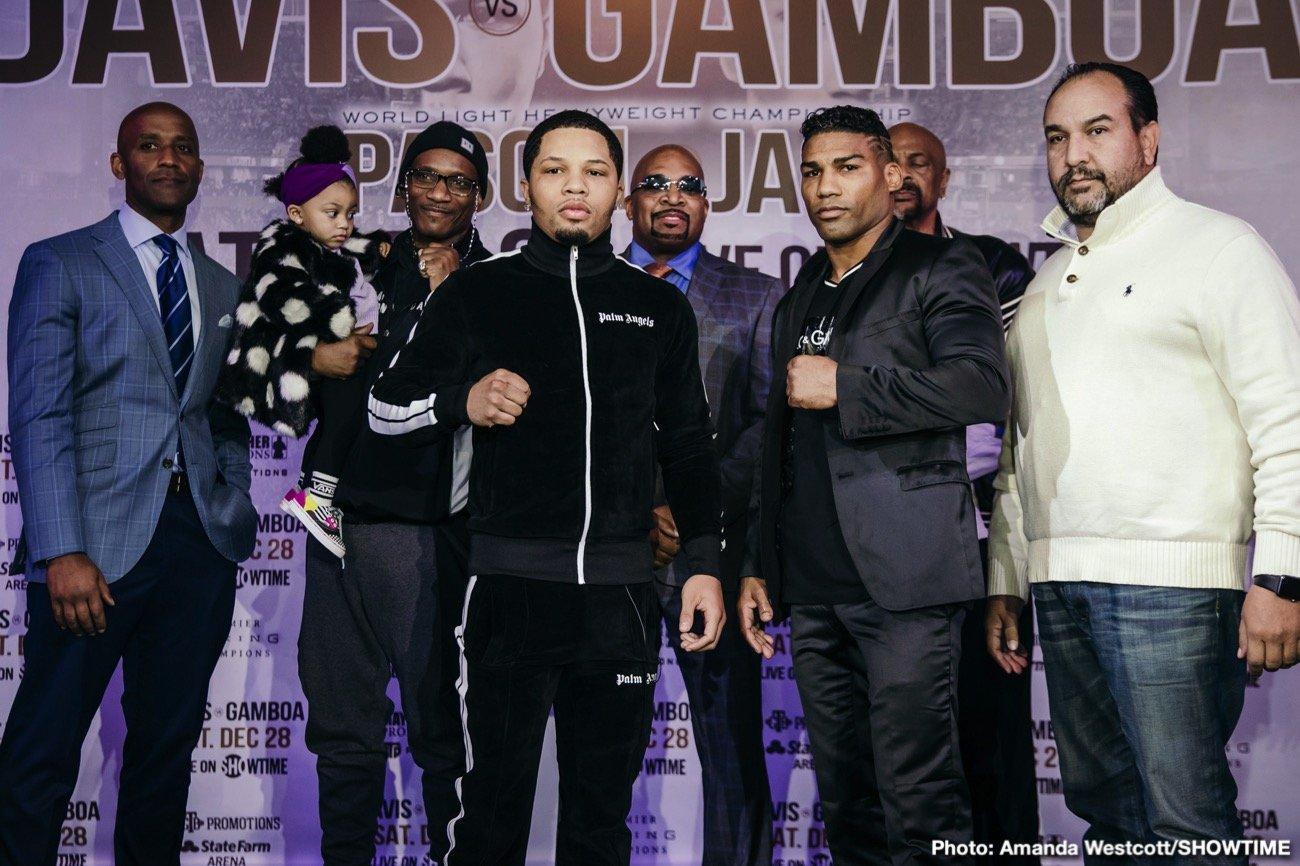 Gervonta Davis Yuriorkis Gamboa Davis vs. Gamboa Showtime