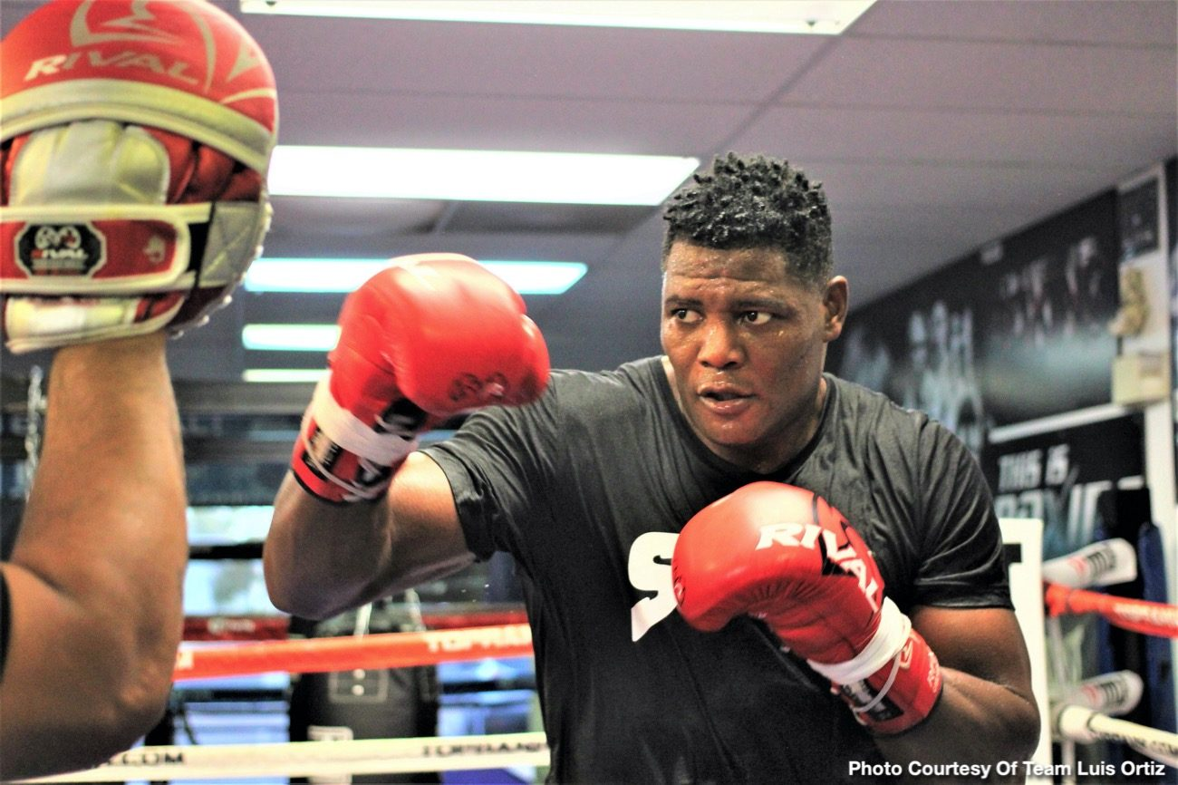 Deontay Wilder Fox Sports pay-per-view Luis Ortiz Wilder vs. Ortiz