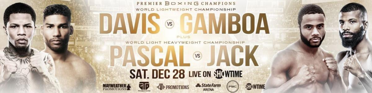 Gervonta Davis Yuriorkis Gamboa Davis vs. Gamboa Premier Boxing Champions Showtime