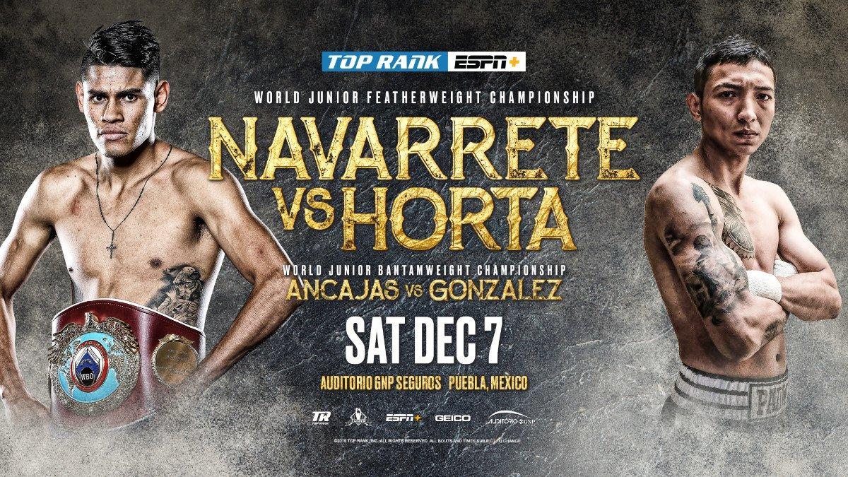 - Latest Anacajas vs. Gonzalez Ancajas vs. Gonzalez Emanuel Navarrete ESPN Francisco Horta Jerwin Ancajas Miguel Gonzalez Navarrete vs. Horta