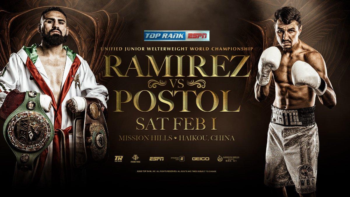 - Latest ESPN JOSE RAMÍREZ Ramirez vs. Postol Top Rank Boxing Viktor Postol