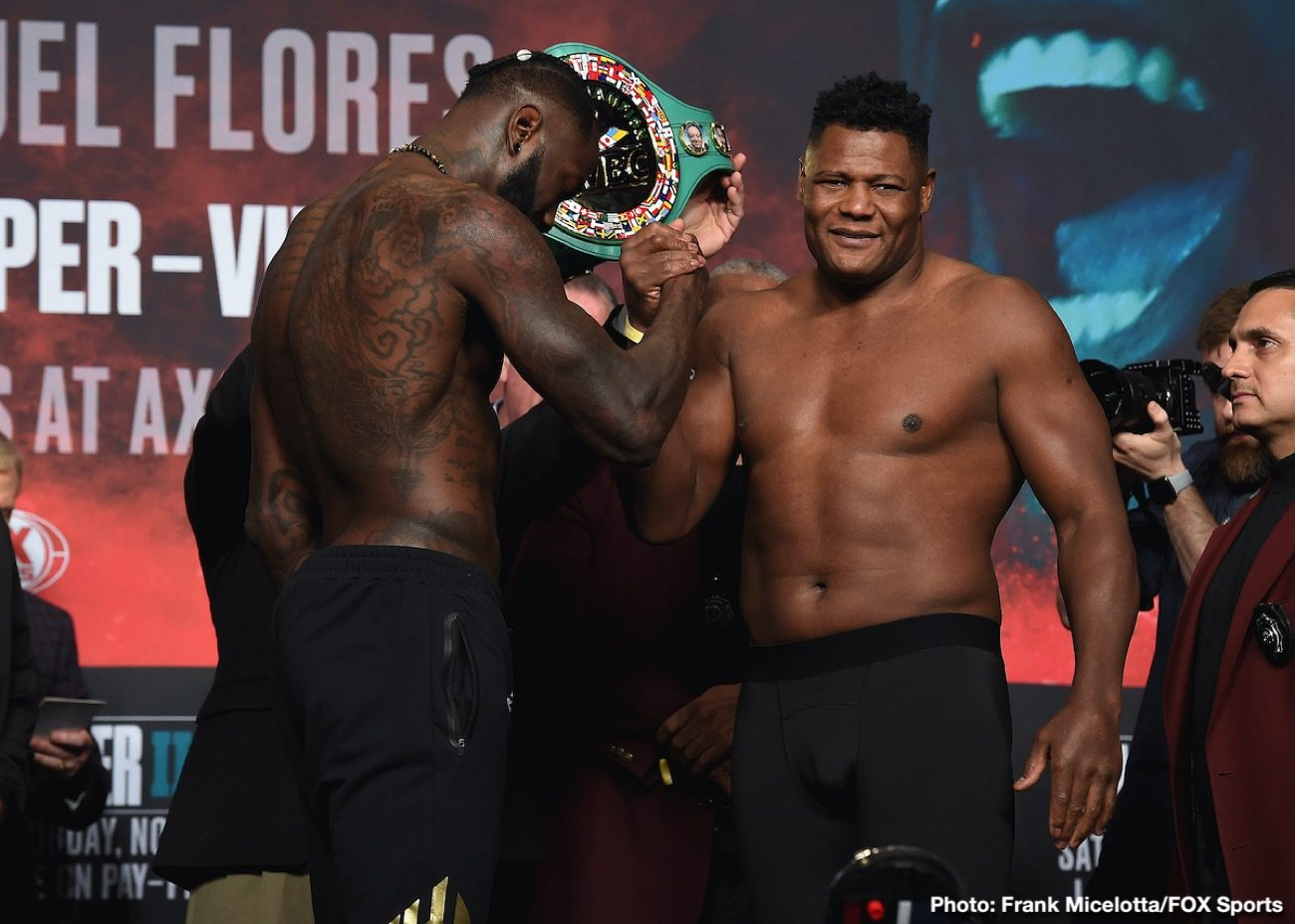 - Latest Deontay Wilder Fox Sports pay-per-view Luis Ortiz Wilder vs. Ortiz