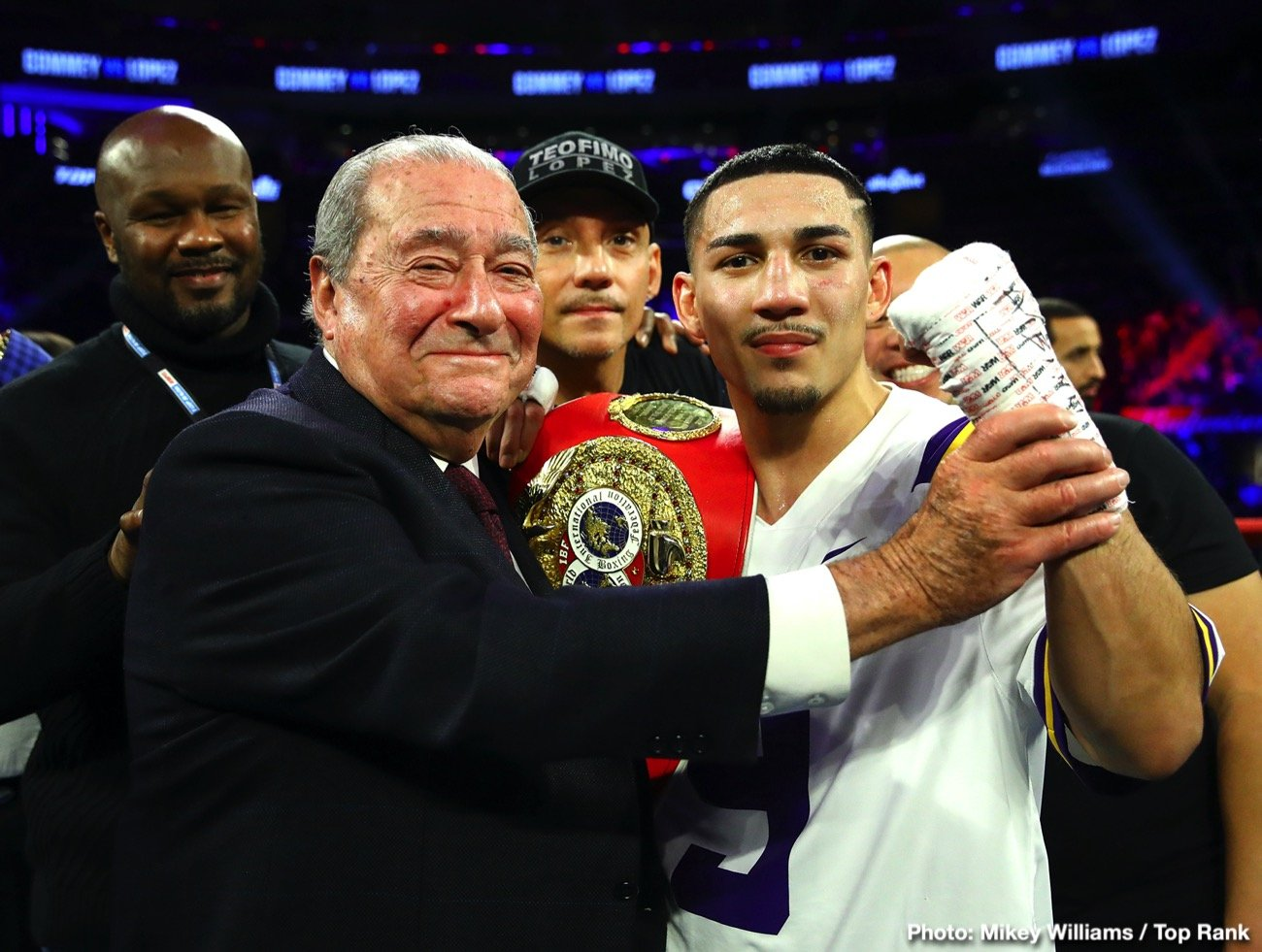 Manny Pacquiao Teofimo Lopez Terence Crawford