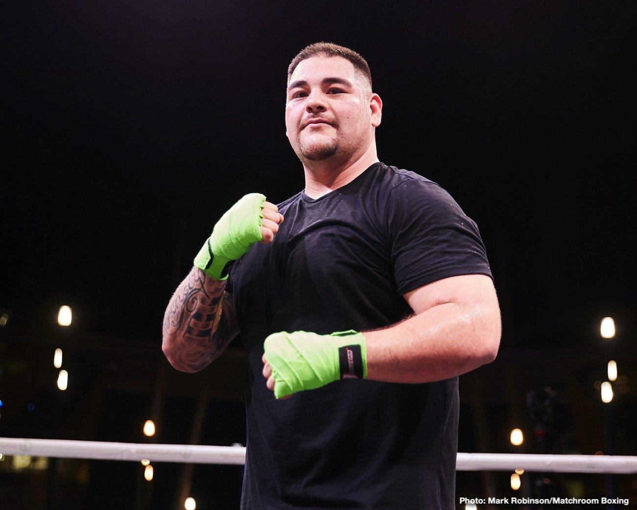 Tyson Fury Andy Ruiz Dillian Whyte Eddie Hearn Matchroom Boxing