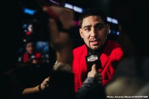 "Danny Garcia WARNS Spence and Pacquiao: ""My style is dangerous for both"""