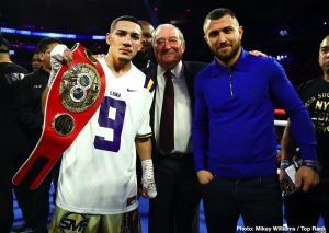 Vasiliy Lomachenko and Teofimo Lopez to fight in September – Bob Arum