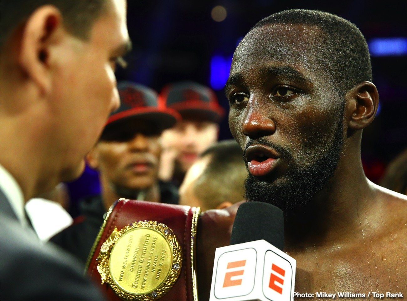 Terence Crawford says Errol Spence's style is suited for Danny Garcia