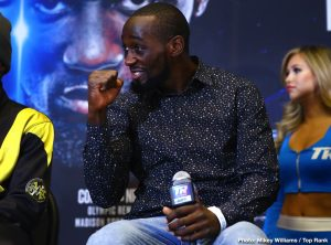 Terence Crawford: 'I'll fight whoever they put in front of me'