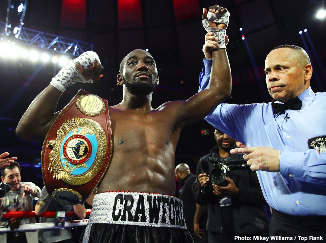 Keith Thurman Shawn Porter Terence Crawford