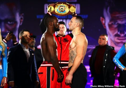 Terence Crawford Commey vs. Lopez Crawford vs. Kavaliauskas Egidijus Kavaliauskas ESPN Richard Commey Teofimo Lopez Top Rank Boxing