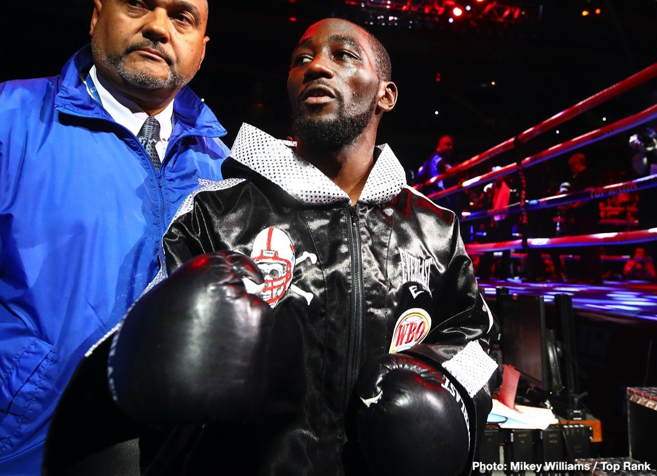 Terence Crawford Bob Arum Conor McGregor top rank