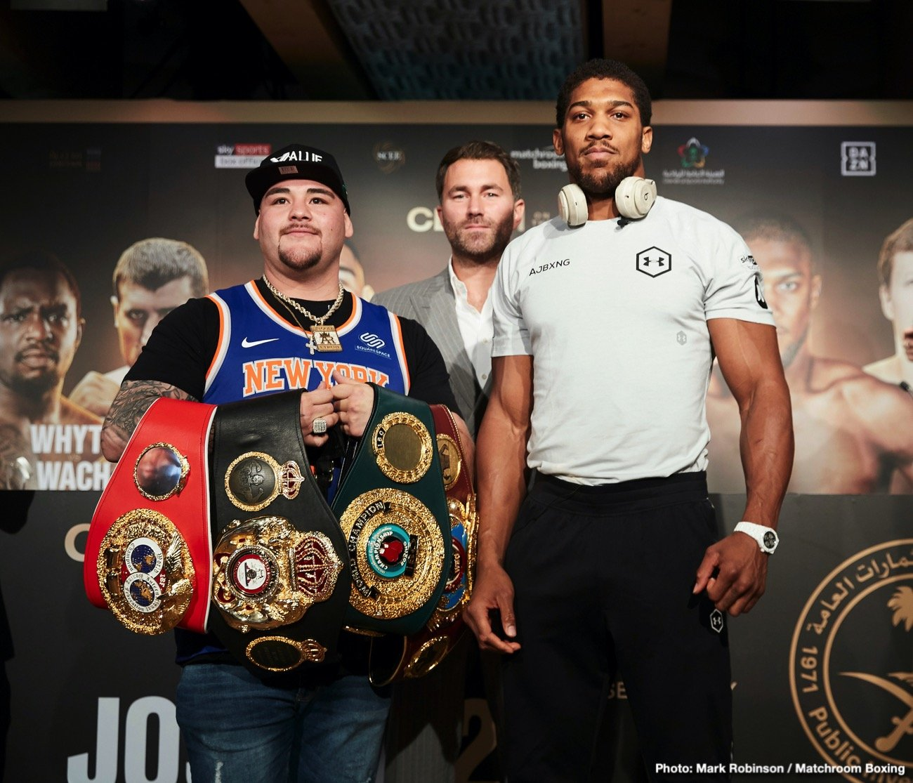 Anthony Joshua Andy Ruiz DAZN Joshua vs Ruiz Ruiz vs. Joshua 2 Sky Sports Box Office