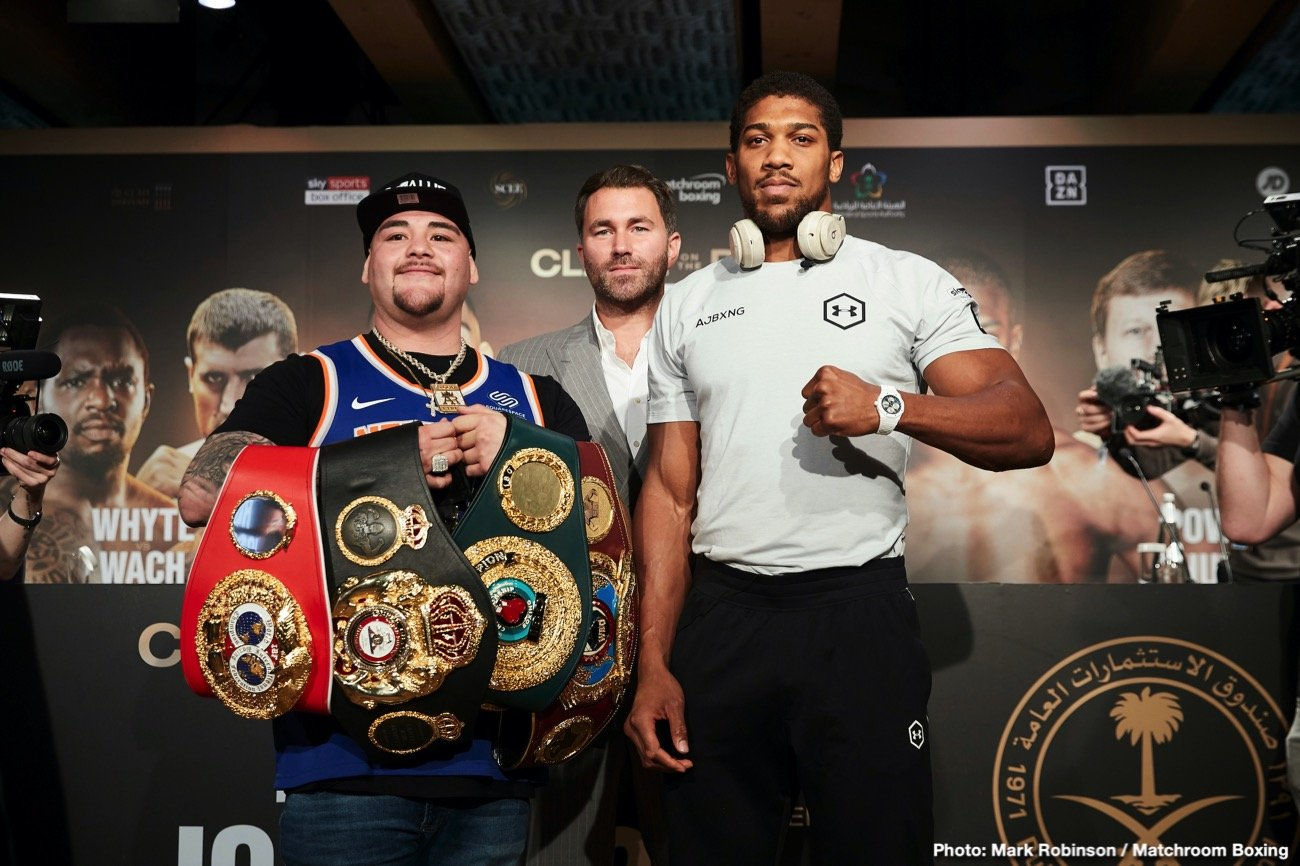 Anthony Joshua Billy Joe Saunders