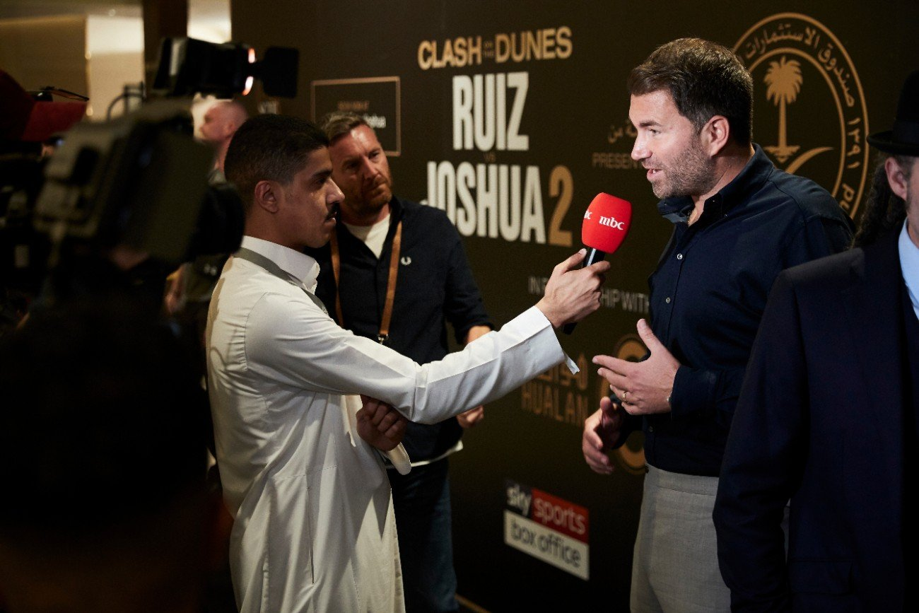 Anthony Joshua Andy Ruiz DAZN Eddie Hearn Joshua vs Ruiz Sky Sports Box Office